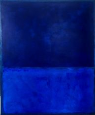Obraz abstrakcyjny BLUE 100x120cm