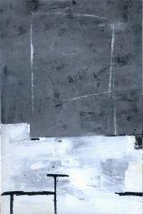 Obraz abstrakcyjny SHADES OF GRAY 120x180cm