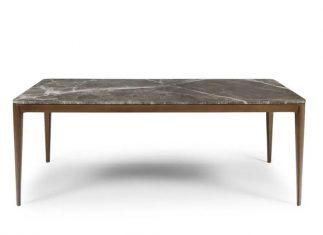 Stół z marmurowym blatem Form Walnut AD bbhome
