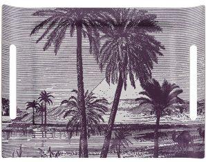 Taca Desert Croisière Sur Le Nil Jacquard Français 58x42cm