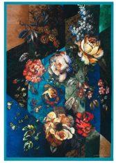 Pled dekoracyjny Minakari Cobalt Wool Designers Guild 130x180cm