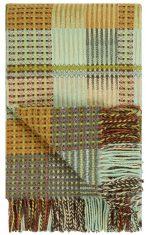 Pled teksturowany Tasara Ochre Woven Designers Guild bbhome