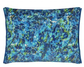 Poduszkadekoracyjna Odisha Cobalt Velvet Designers Guild 60x45cm