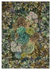 Pled dekoracyjny Madhya Moss Wool Designers Guild 130x180cm