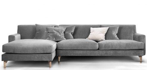 Sofa narożna Zoya Rosanero