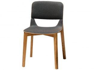 Krzesło tapicerowane dębowe Leaf Ton- z ekspozycji bbhome