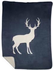 Pled Standing Deer Navy bbhome