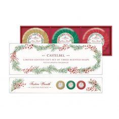 Zestaw mydeł Winter Kisses Castelbel 3x150g
