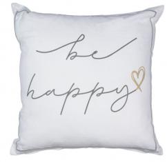 Poduszka dekoracyjna Be Happy 45x45cm