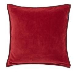Poduszka welurowa Red Lexington 50x50cm