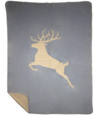 Pled Jumping Deer Grey bbhome