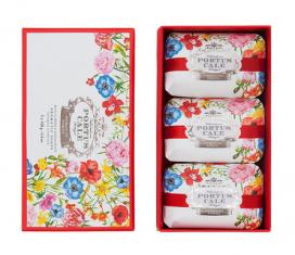 Zestaw mydeł Blooming Garden Portus Cale Castelbel 3x150g