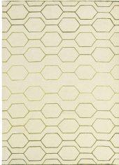 Dywan geometryczny Arris Cream Carpet Decor bbhome