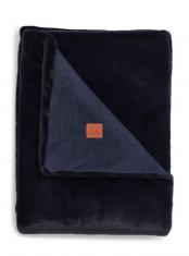 Narzuta Fauxfur Dark Blue Lexington bbhome