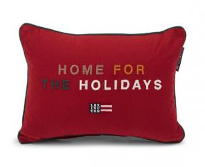 Poduszka welurowa Home For The Holidays Lexington 30x40cm