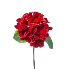 Hortensja Flower Red BBHome 61cm