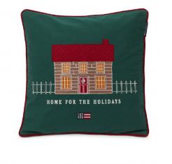 Poduszka welurowa House For The Holidays Lexington 50x50cm