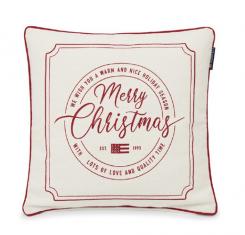 Poduszka dekoracyjna Merry Christmas Lexington 50x50cm