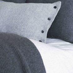 Poduszka Classic Premium Grey MOYHA 60x40cm
