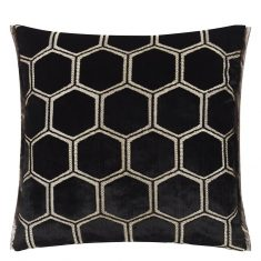 Poduszka dekoracyjna Manipur Noir Designers Guild bbhome