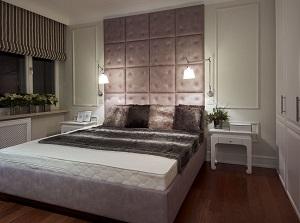nowoczesne kinkiety w sypialni tworzą przytulną atmosferę