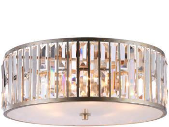 Plafon z kryształkami Facets