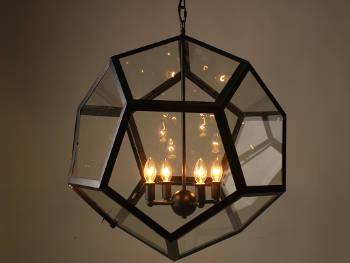 Geometryczna lampa wisząca Combiho