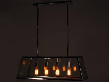 Lampa wisząca Reposi Chrom