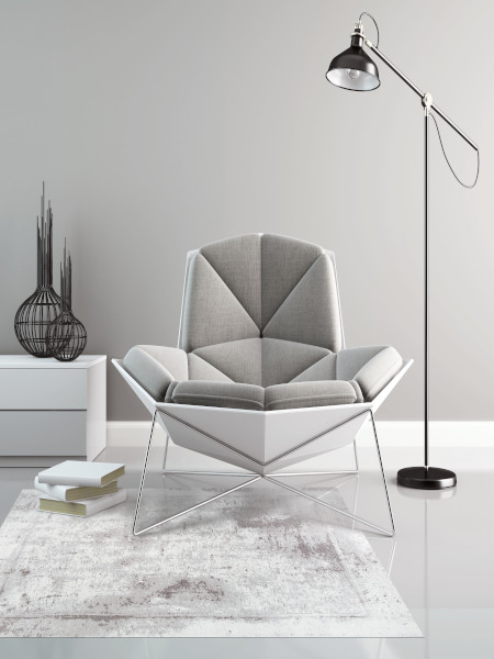 fotel dywan