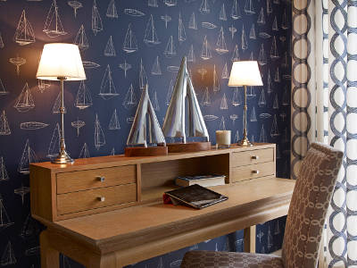 Lampa stojąca na biurko Eichholtz
