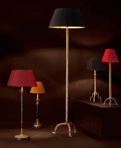 Designerska lampa podłogowa Eichholtz