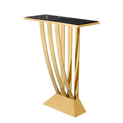 Złota konsola Eichholtz Beau Deco Gold
