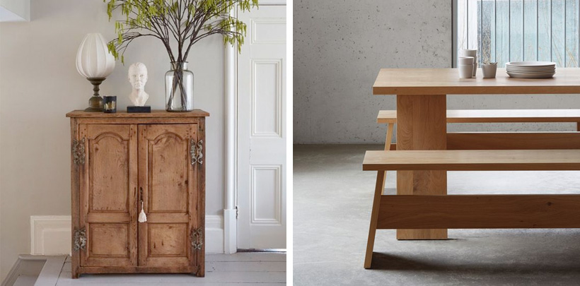 Drewniane meble w nowoczesnej aranżacji