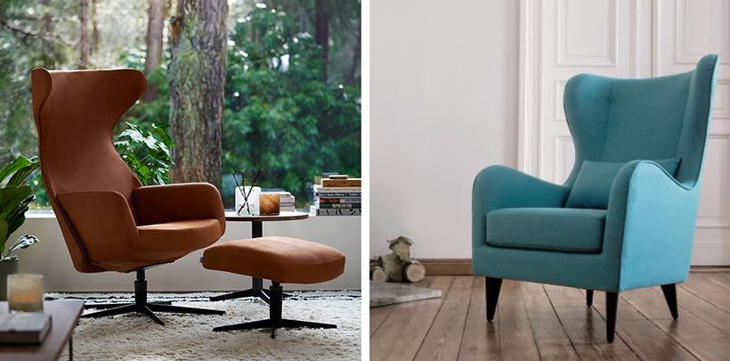 Nowoczesne fotele dla designerskich wnętrz