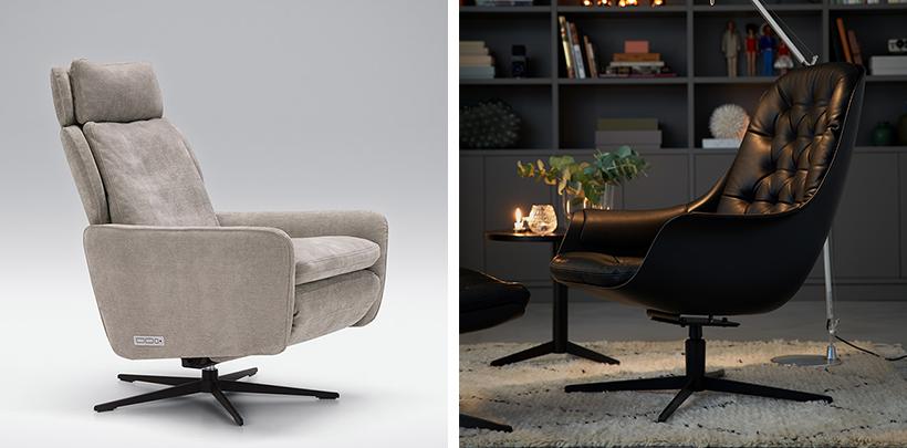 Fotele uszaki w nowoczsnym stylu