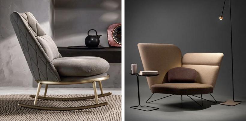 Designerskie fotele w nowoczsnym stylu