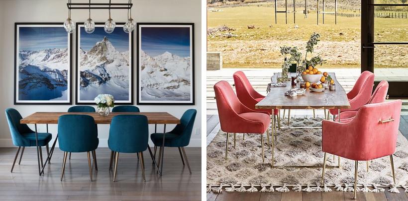 Nowoczesne krzesła w kolorowej odsłonie