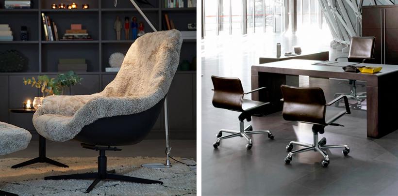 Nowoczesny fotel do biura w domu