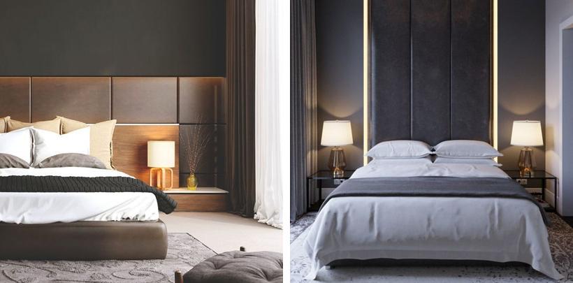 Sypialnia w nowoczesnym stylu
