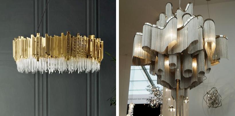 luksusowe kryształowe żyrandole