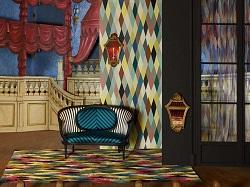designerski dywan od Christian Lacroix